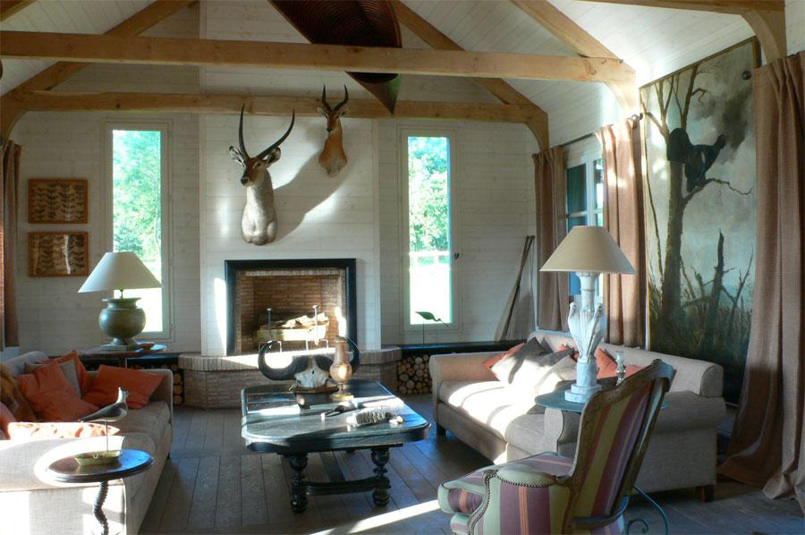 Formidable Darblay And Wood #10: Salon Maison En Bois En Normandie Darblay And Wood